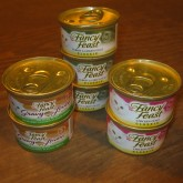 Fancy Feast Cat Food, 3 oz. cans