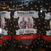 Newman's Own Chicken Flavor Dog Treats