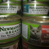 Newman's Own Organic Cat Food, 5.5 oz. can